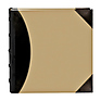High Capacity 4x6 Pocket Photo Album - 500 Pictures (Beige with Leatherette Trim)