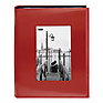 4X6-200 Sewn Frame Photo Album Cutout (Red)