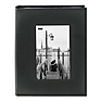 4X6-200 Sewn Frame Photo Album Cutout (Black)
