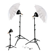 3-Light Umbrellas Portrait Kit