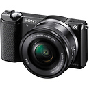 Sony | a5000 Mirrorless Digital Camera with 16-50mm Lens (Black) | ILCE5000LB