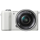 Sony | a5000 Mirrorless Digital Camera with 16-50mm Lens (White) | ILCE5000LW