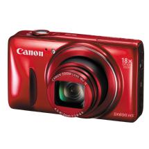 Canon PowerShot SX600 HS Digital Camera (Red)