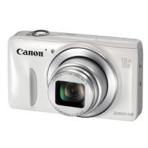 Canon PowerShot SX600 HS Digital Camera (White)