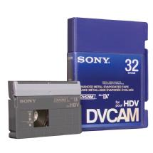 Sony PDVM-32N/3 DVCAM for HDV Tape