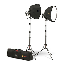 Portable Dual OctoDome Speedlight Kit Image 0