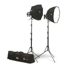 Photoflex Portable Dual OctoDome Speedlight Kit
