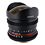 8mm T/3.8 Fisheye Cine Lens with Removable Hood for Nikon F