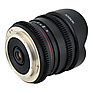 8mm T/3.8 Fisheye Cine Lens with Removable Hood for Nikon F Thumbnail 1