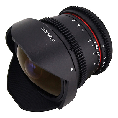 8mm T/3.8 Fisheye Cine Lens with Removable Hood for Sony E Image 0