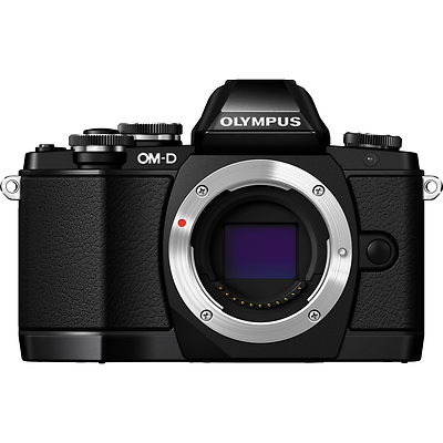 OM-D E-M10 Micro Four Thirds Digital Camera Body (Black) Image 0