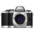 OM-D E-M10 Micro Four Thirds Digital Camera Body (Silver)