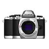 Olympus | OM-D E-M10 Micro Four Thirds Digital Camera Body (Silver) | V207020SU000