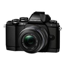 Olympus OM-D E-M10 Micro Four Thirds Digital Camera with 14-42mm Lens (Black)