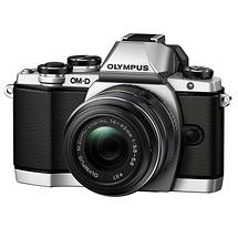 Olympus OM-D E-M10 Micro Four Thirds Digital Camera with 14-42mm Lens (Silver)