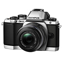 Olympus | OM-D E-M10 Micro Four Thirds Digital Camera with 14-42mm Lens (Silver) | V207021SU000