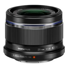 Olympus M.ZUIKO AF Digital 25mm f/1.8 Lens (Black)