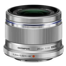 Olympus M.ZUIKO AF Digital 25mm f/1.8 Lens (Silver)