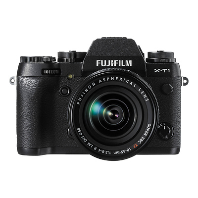 X-T1 Mirrorless Digital Camera with 18-55mm Lens Image 0