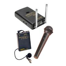 Azden Pro Series Dual-Channel VHF Wireless Kit