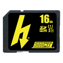 16GB Class 10 H Line UHS-1 SDXC Memory Card Image 0