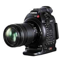 Canon EOS C100 Cinema Camera with Dual Pixel CMOS AF and EF-S 18-135mm IS STM Lens