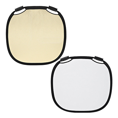 33 In. Collapsible Reflector (Sunsilver/White) Image 0