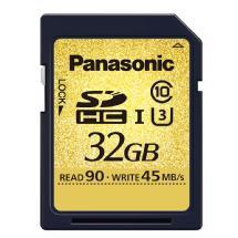 Panasonic 32GB SDHC-UHS-I U3 CARD (90MB/S)