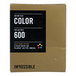 Instant Color Film with Gold Frames for Polaroid 600-Type Cameras