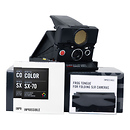 The Impossible Project | Refurbished Polaroid SONAR OneStep SX-70 Land Camera Kit (Black) | 2851