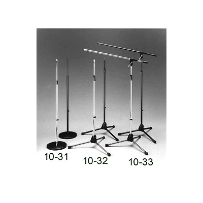 Collapsible Microphone 3 Leg Stand (Black) Image 0