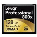 Lexar Media | 128GB CompactFlash Memory Card Professional 800x UDMA | LCF128CRBNA800