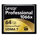 Lexar Media | 64GB Professional 1066x Compact Flash Memory Card (UDMA 7) | LCF64GCRBNA1066