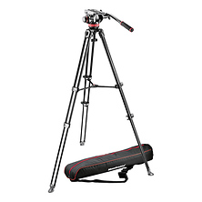 MVH502A Fluid Head and MVT502AM Tripod with Carrying Bag Image 0