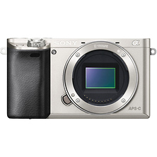 Alpha a6000 Mirrorless Digital Camera Body (Silver) Image 0