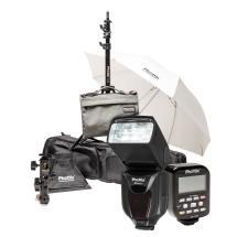 Phottix Kelby Mitros+ TTL Flash and Odin TCU TTL Flash Trigger Kit for Canon
