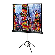 Versatol Tripod Projection Screen (70 x 70 In.) Image 0