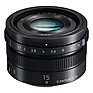 LUMIX G Leica DG Summilux 15mm f/1.7 Lens (Black)