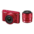 1 S2 Mirrorless Digital Camera with 11-27.5mm and 30-110mm Lens (Red)