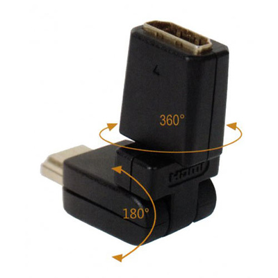 HDMI Male to HDMI Female Rotatable Cable (360 Degrees) Image 0
