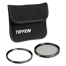 58mm Photo Twin Pack (UV Protection and Circular Polarizing Filter) Image 0