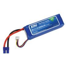 Horizon Hobby E-flite 2200mAh 3S 11.1V 30C Li-Po 13AWG EC3 Battery