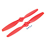 CW and CCW Rotation Propeller Set for 350 QX Quadcopter (Red)