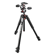 MT055XPRO3-3W Aluminum Tripod with 3-Way Pan Tilt Head