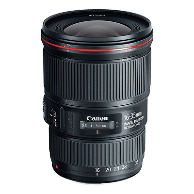 EF 16-35mm f/4.0L IS USM Lens Image 0