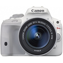Canon | EOS Rebel SL1 Digital SLR Camera with EF-S 18-55mm f/3.5-5.6 IS STM Lens (White) | 9123B002
