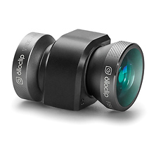 4-in-1 Photo Lens for iPhone 5/5s (Space Gray Lens with Black Clip) Image 0