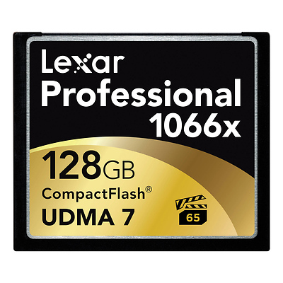 128GB Professional 1066x Compact Flash Memory Card (2-Pack) Image 0