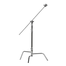 ShowMaven 2 Packs Heavy Duty C-Stand Light Stand with 4ft//120cm Holding Arm /& Grip Heads /& Carry Bag for Studio Video Reflector Monolight and Other Photographic Equipment