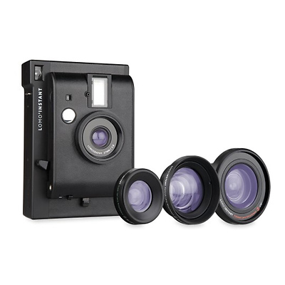Instant Black Edition Camera + 3 Lenses Image 0